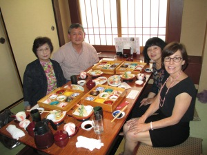 Lunch with Setsuko and Hiroko