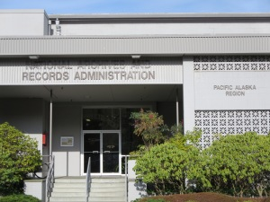 National Archives and Records Administration: Pacific Alaska Region