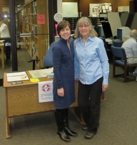 Linda Okazaki and Trish Nicola