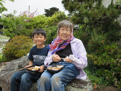 Boy and His Grandmother
