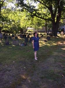 Old Burying Ground, Cambridge MA