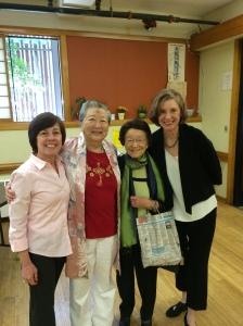 Linda Harms Okazaki, Sumi  Utsushigawa Shimatsu, Maru Okazaki Hiratzka, Jan Jarboe Russell